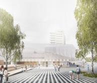 巴塞罗那希布伦市场重建竞赛方案(设计:ba
