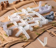 成都独角兽岛建筑竞赛方案(设计:OMA)