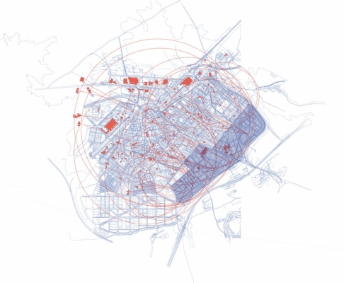 工业与住房-空中装配式街区建筑竞赛(设计:xavier font sala)