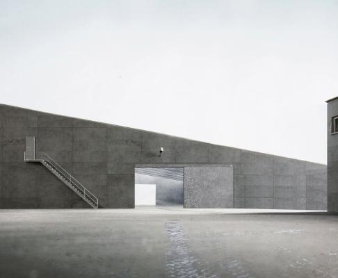 比拉赫仓库扩建竞赛方案(设计:felgendreher olfs köchling)