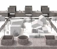 阿普兰材料、水和能源实验室建筑竞赛方案(