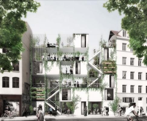 哥本哈根jagtvej 69 建筑竞赛方案(设计:we &juul)