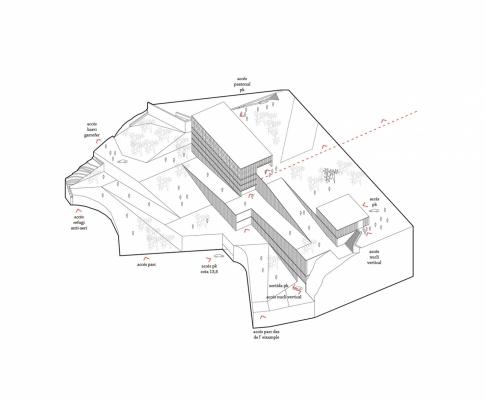 托尔托萨公园建筑竞赛方案(设计:camps + felip )