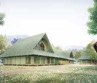 Osterhof新学校建筑竞赛方案(设计:thomas
