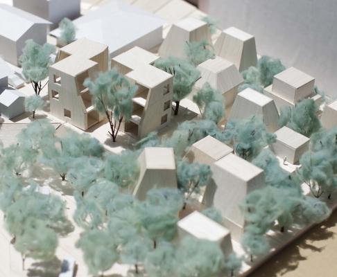 """福冈""""树之间""""住宅Between Trees(设计:Tailored design lab )"""