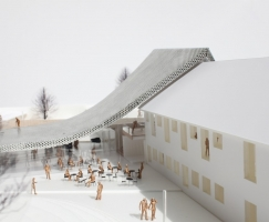 Mariehø文化中心竞赛设计(设计:WE archi