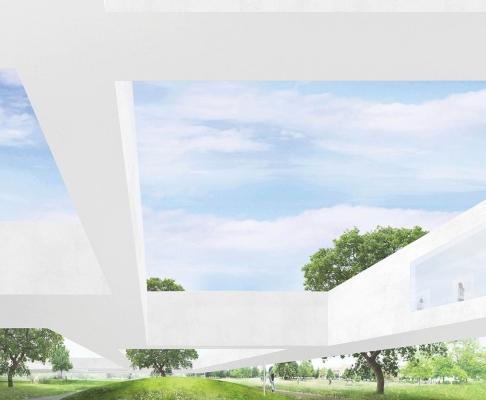 德绍包豪斯建筑竞赛方案(设计:石上纯也)