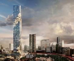 曼谷MahaNakhon 超高层建筑 / Ole Scheeren