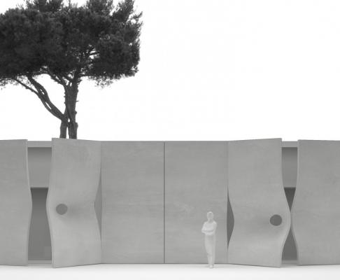 罗马开与合住宅(设计:shiro studio)