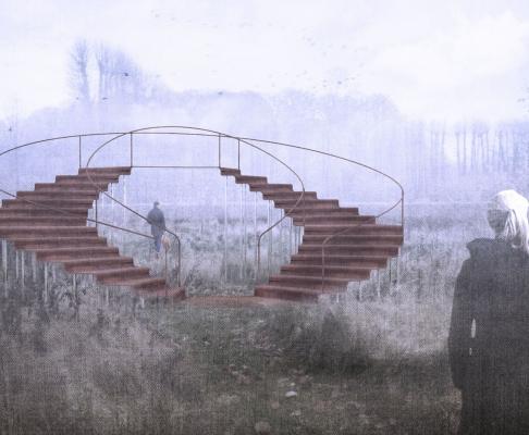 Holtegaard艺术画廊花园凉亭竞赛方案(设计:adolfsson等)