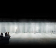 法兰克福挪威馆书展空间竞赛方案(设计:sa