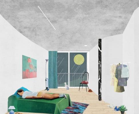 洛桑居住区开发竞赛方案(设计:FALA)