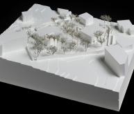阿尔及尔大使馆宅邸建筑竞赛方案(设计:e2