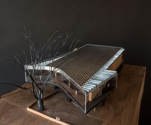 贝耶勒美术馆扩建工程建筑竞赛方案(设计:smiljan radic)