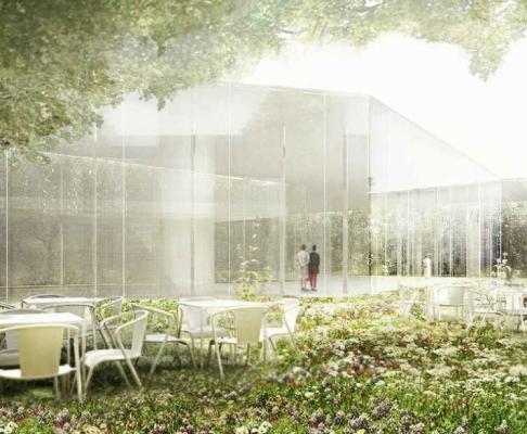 图尔奈美术馆建筑竞赛方案(设计:aires mateus)