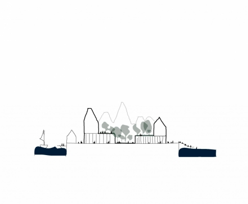 克里斯蒂安桑岛总体规划竞赛方案一等奖(设计:cobe)