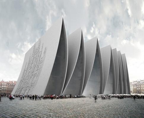 斯特拉斯堡折叠教堂 (设计:axis mundi)