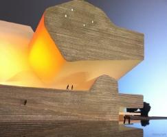 天津生态城生态规划博物馆(设计:steven h