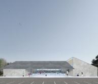 阿尔维尼亚克多功能厅建筑竞赛方案(设计: