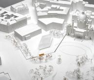 维也纳卡尔广场博物馆扩建竞赛方案(设计: