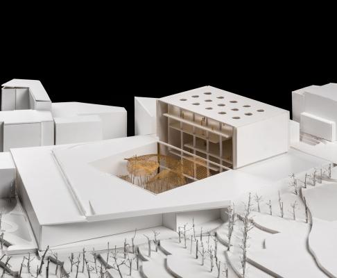 基辅dignity博物馆更新建筑竞赛方案(设计:vazquez consuegra)