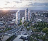 巴塞尔Nordspitze规划竞赛获奖作品(设计: