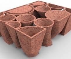 Brick Pavilion/砖亭(设计:先进建筑实验
