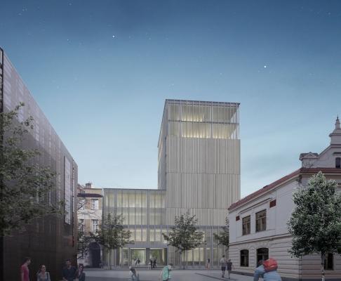 布拉格新市政厅国际竞赛方案(设计:multiplan)