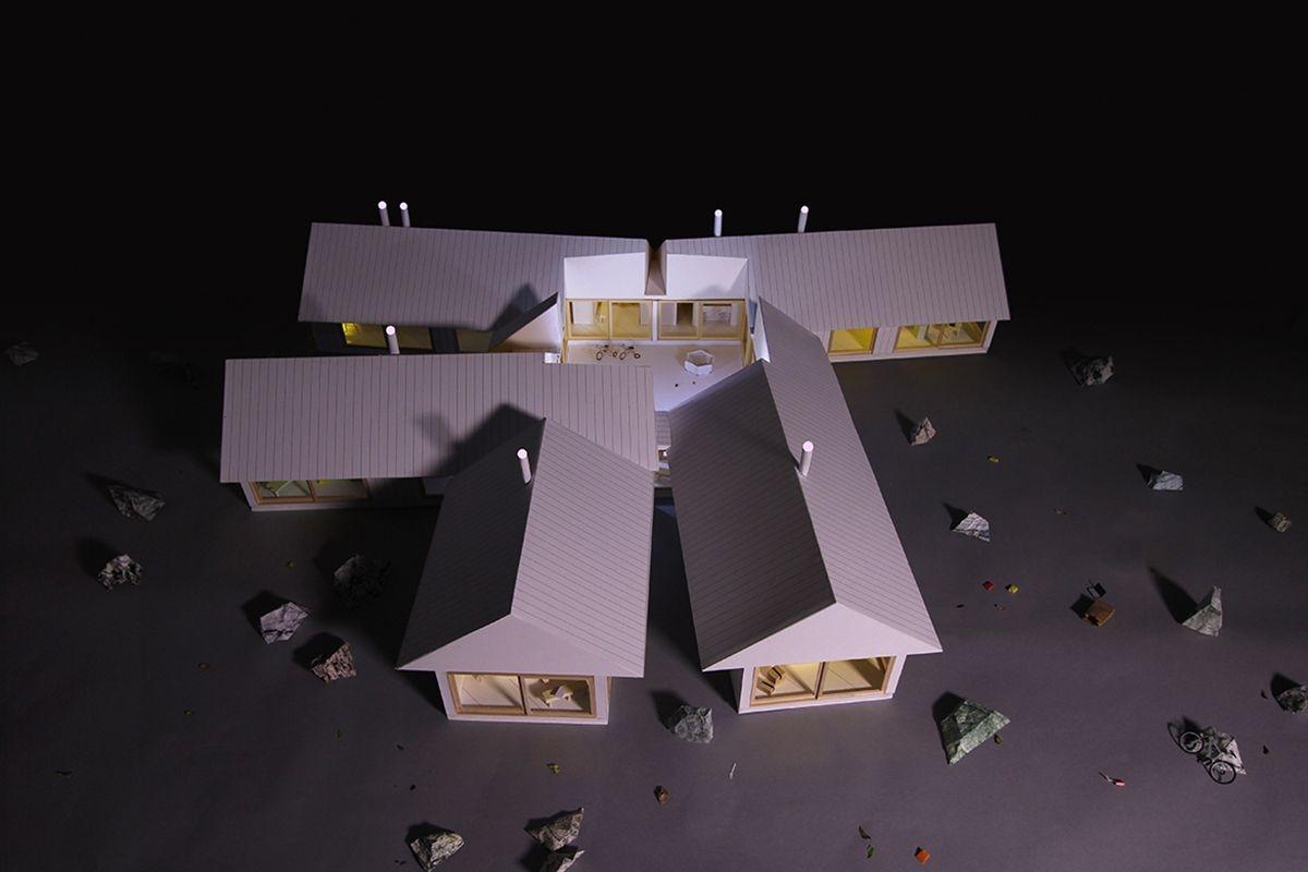 十号合院住宅(设计:mos architects)