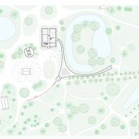 tytsjerk玻璃游客中心公园(设计:maks . ishigami)