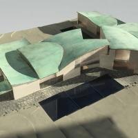 普林斯顿鲁宾斯坦下议院建筑竞赛方案(设计:steven holl)