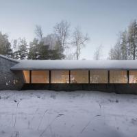 挪威svullrya市skogfinsk博物馆竞赛方案(设计:onirism)