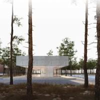 柏林贝尔瑙访客中心建筑竞赛方案(设计:steimle architekten)