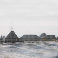 挪威svullrya市skogfinsk博物馆竞赛方案(设计:LETH & GORI)