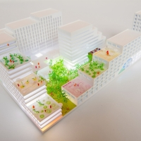斯特拉斯堡综合体建筑竞赛方案(设计:hhf)