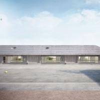 伯尔尼grossaffoltern学校建筑竞赛方案(设计:estrada reichen)