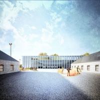 奥胡斯新建筑学院建筑竞赛方案(设计:albert palazon)
