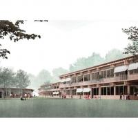 巴尔市威森塔尔学校建筑竞赛方案(设计:e2a)