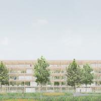 弗劳恩费尔德政府办公大楼建筑竞赛方案(设计:durig)