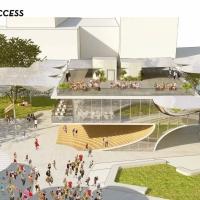 洛杉矶第一大街(FAB)公园竞赛方案(设计:OMA)