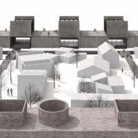 阿普兰材料、水和能源实验室建筑竞赛方案(设计:dellekam)
