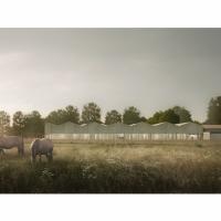 柏林食品安全与卫生研究所建筑竞赛方案(设计:wulf)