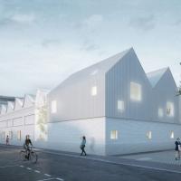 巴黎圣丹尼斯小学建筑竞赛方案(设计:rica . fuso)