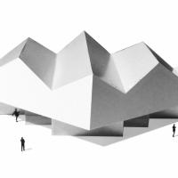 莱尼克纱布溪城堡建筑竞赛方案(设计:mlzd)