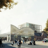 隆德新中央车站竞赛方案(设计:elding oscarson)