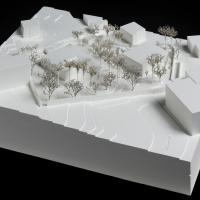 阿尔及尔大使馆宅邸建筑竞赛方案(设计:e2a)