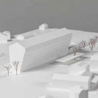Urner Kantonalbank总部建筑竞赛方案(设计:caruso st john)