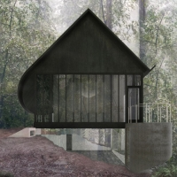 本洛蒙德树桩住宅(设计:para project)