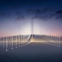 迪拜Ethar广场装置竞赛方案(设计:OMA)