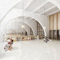 科洛迪pinocchio儿童图书馆竞赛方案(设计:roca . comas)